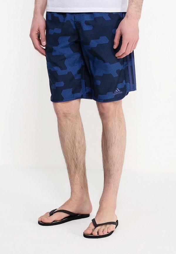 Мужские шорты для плавания Adidas Performance (Адидас Перфоманс) AJ5588: изображение 3