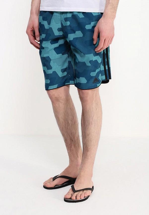 Мужские шорты для плавания Adidas Performance (Адидас Перфоманс) AJ5589: изображение 3