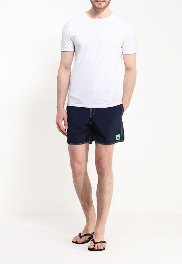Мужские шорты для плавания Adidas Performance (Адидас Перфоманс) AK0178: изображение 2