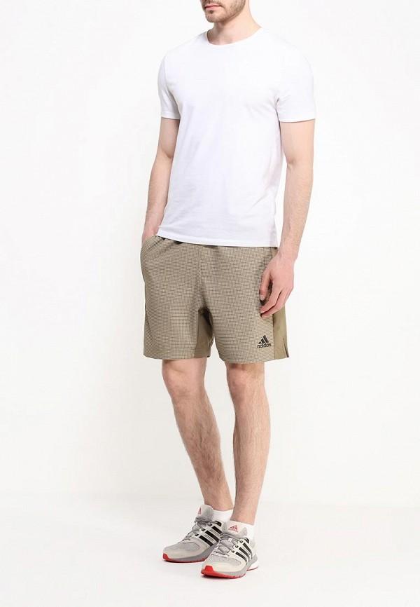 Мужские повседневные шорты Adidas Performance (Адидас Перфоманс) AK1623: изображение 2
