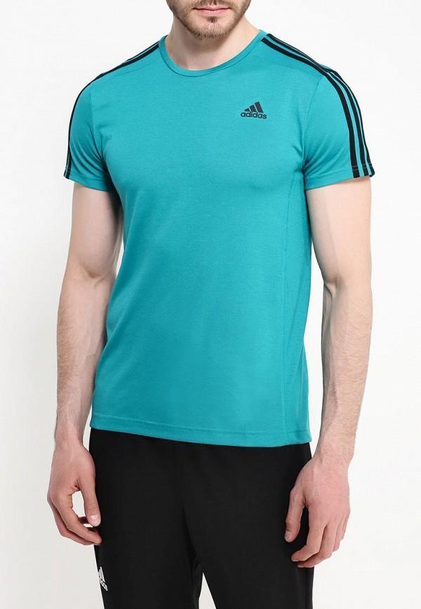 Спортивная футболка Adidas Performance (Адидас Перфоманс) AK1736: изображение 4