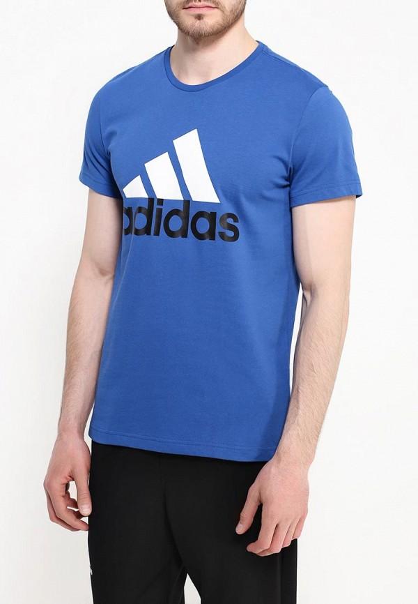 Спортивная футболка Adidas Performance (Адидас Перфоманс) AK1798: изображение 3