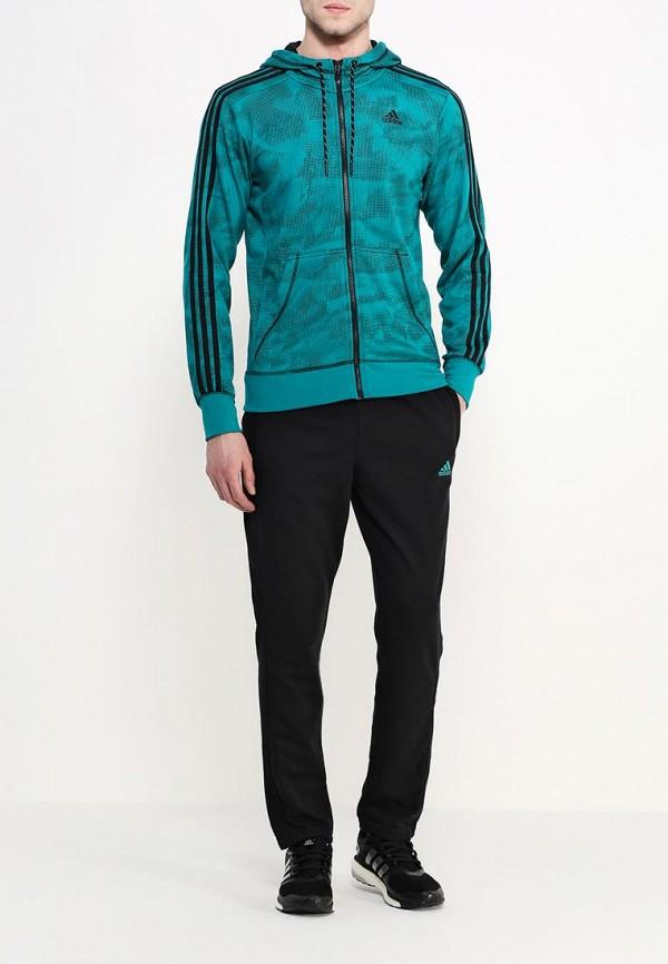 Мужские спортивные брюки Adidas Performance (Адидас Перфоманс) AK2192: изображение 2