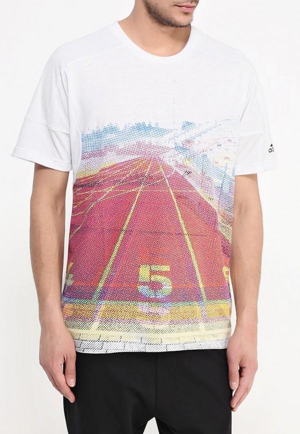 Спортивная футболка Adidas Performance (Адидас Перфоманс) S93313: изображение 3