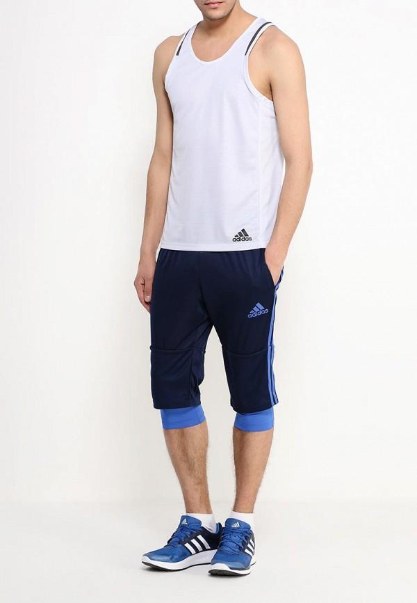 Мужские спортивные шорты Adidas Performance (Адидас Перфоманс) AB3117: изображение 2