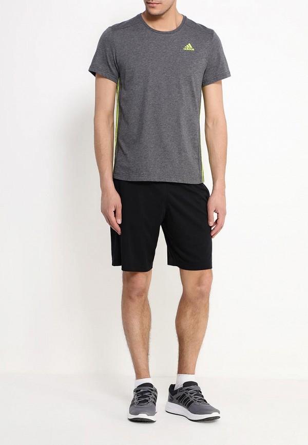Мужские спортивные шорты Adidas Performance (Адидас Перфоманс) AC6134: изображение 2