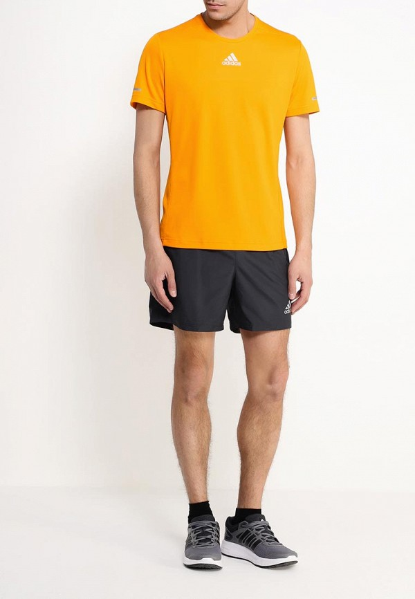 Мужские спортивные шорты Adidas Performance (Адидас Перфоманс) AI7507: изображение 2