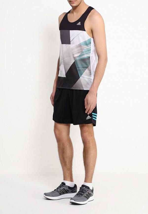 Мужские спортивные шорты Adidas Performance (Адидас Перфоманс) AI8231: изображение 2