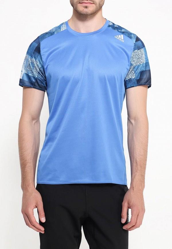 Спортивная футболка Adidas Performance (Адидас Перфоманс) AX5998: изображение 3
