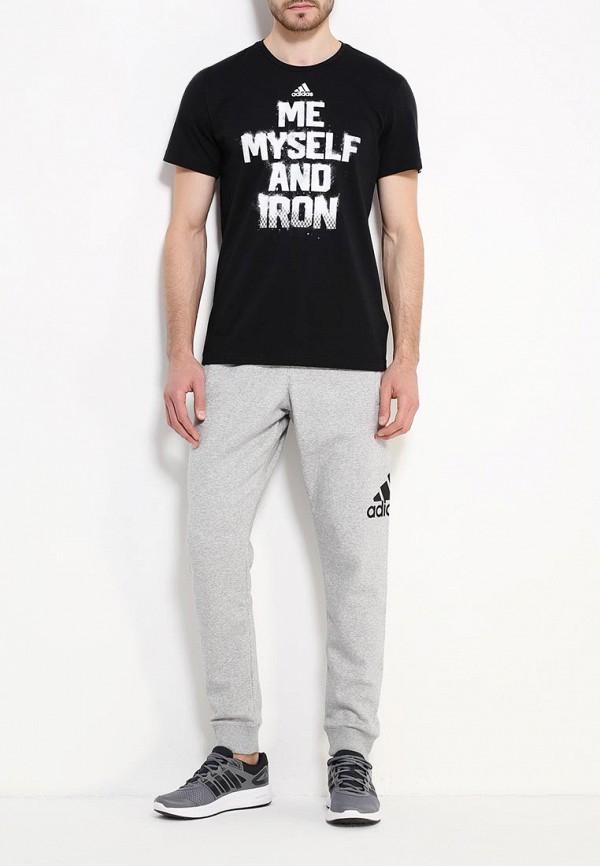 Мужские спортивные брюки Adidas Performance (Адидас Перфоманс) AB6528: изображение 2