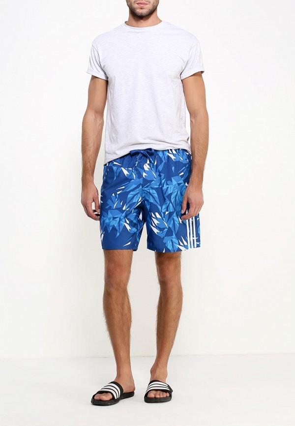 Мужские шорты для плавания Adidas Performance (Адидас Перфоманс) AJ5596: изображение 2