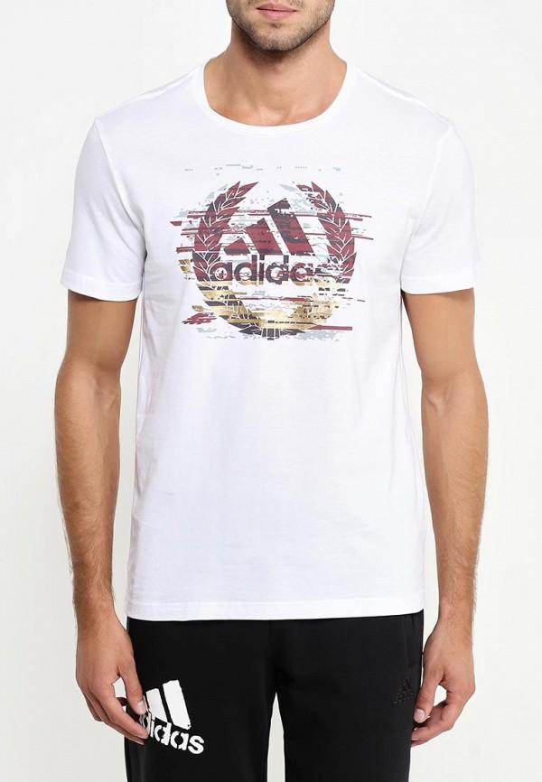 Футболка с коротким рукавом Adidas Performance (Адидас Перфоманс) AY7199: изображение 3