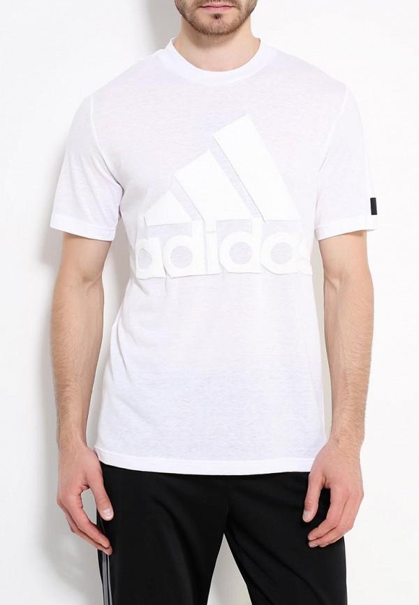 Спортивная футболка Adidas Performance (Адидас Перфоманс) B48046: изображение 4