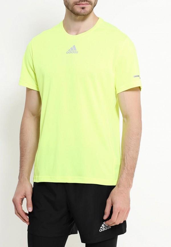 Спортивная футболка Adidas Performance (Адидас Перфоманс) AA5770: изображение 3