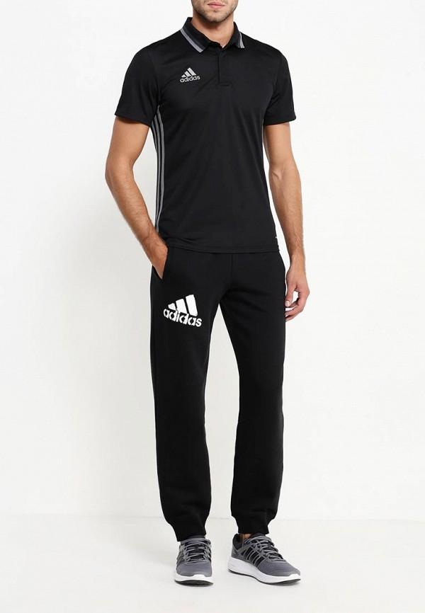 Мужские поло Adidas Performance (Адидас Перфоманс) AJ6899: изображение 2
