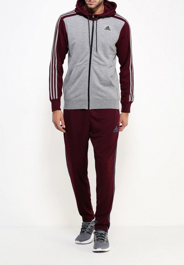 Мужские спортивные брюки Adidas Performance (Адидас Перфоманс) AN9851: изображение 2