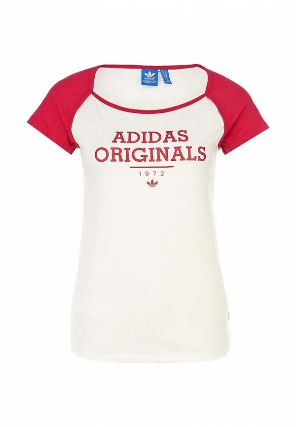 Футболка с коротким рукавом Adidas Originals (Адидас Ориджиналс) F77634: изображение 1