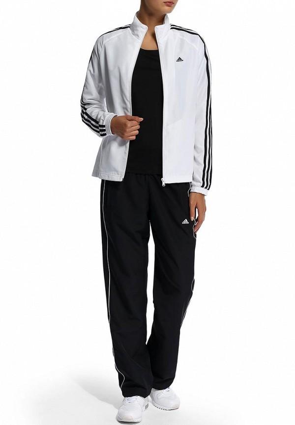 Всё для модниц! — Белый спортивный костюм адидас женский 19a37c903d23e