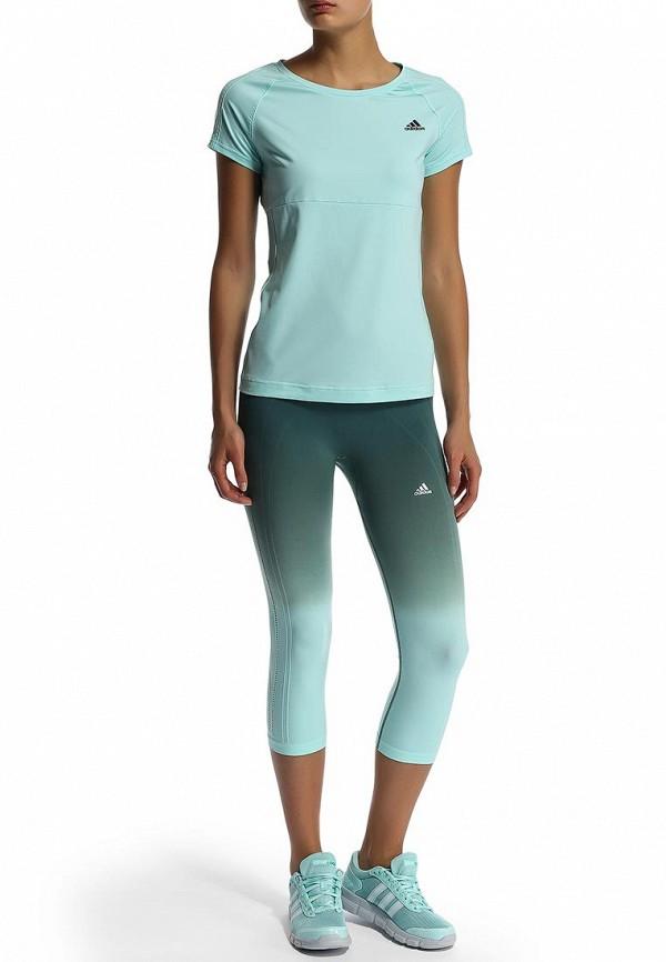 Женские спортивные брюки Adidas Performance (Адидас Перфоманс) M67054: изображение 5