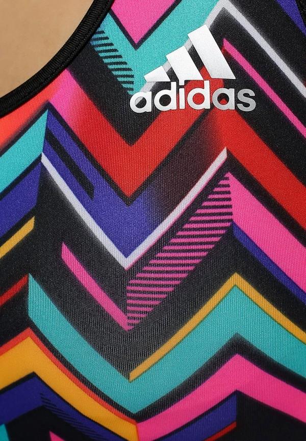 Спортивный топ Adidas Performance (Адидас Перфоманс) F95035: изображение 3