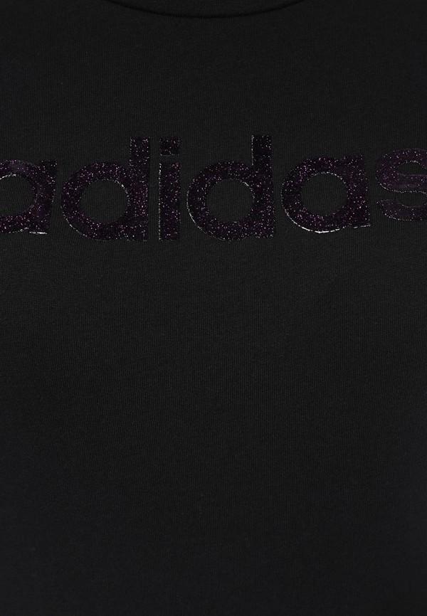 Футболка с надписями Adidas Performance (Адидас Перфоманс) M68087: изображение 2