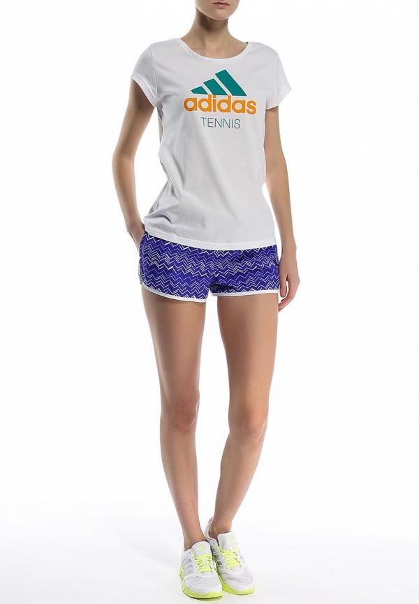 Женские спортивные шорты Adidas Performance (Адидас Перфоманс) S16761: изображение 2