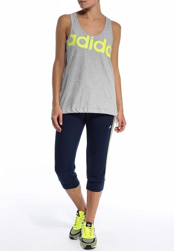 Женские бриджи Adidas Performance (Адидас Перфоманс) S20995: изображение 3
