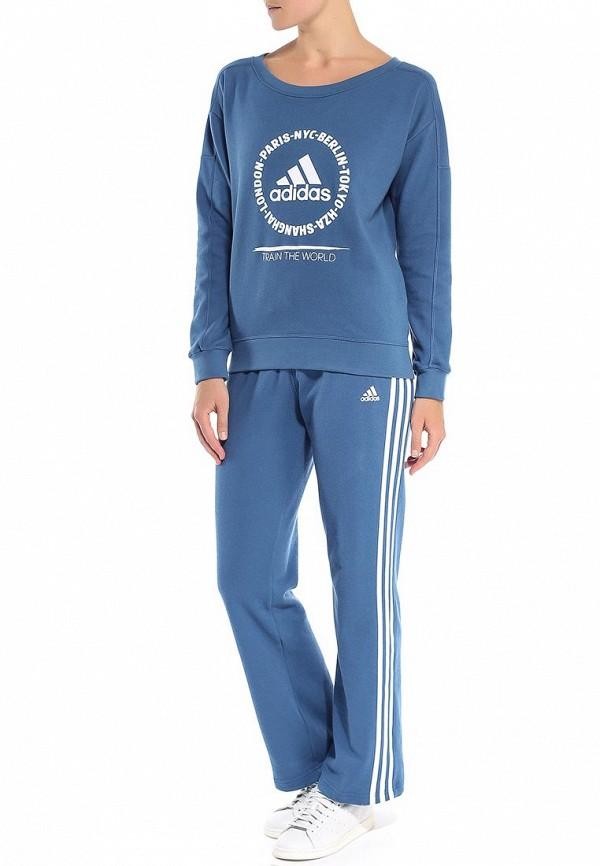 Спортивный костюм Adidas Performance (Адидас Перфоманс) S21090: изображение 3