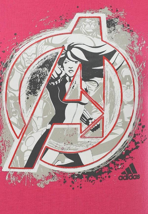 Спортивная футболка Adidas Performance (Адидас Перфоманс) S17176: изображение 3