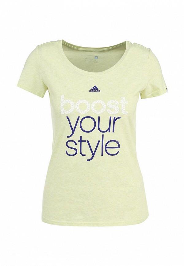 Спортивная футболка Adidas Performance (Адидас Перфоманс) S17198: изображение 2