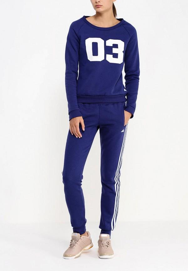 Спортивный костюм Adidas Performance (Адидас Перфоманс) AB3937: изображение 3