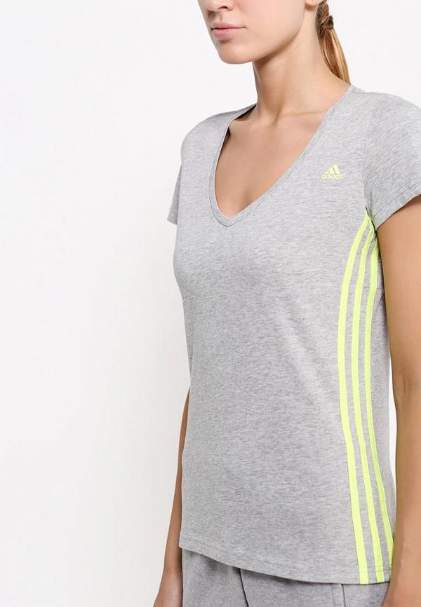 Спортивная футболка Adidas Performance (Адидас Перфоманс) AB5888: изображение 2