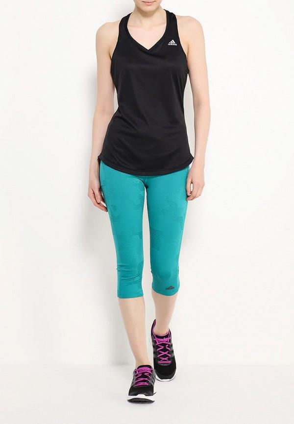 Женские спортивные брюки Adidas Performance (Адидас Перфоманс) AI3241: изображение 2