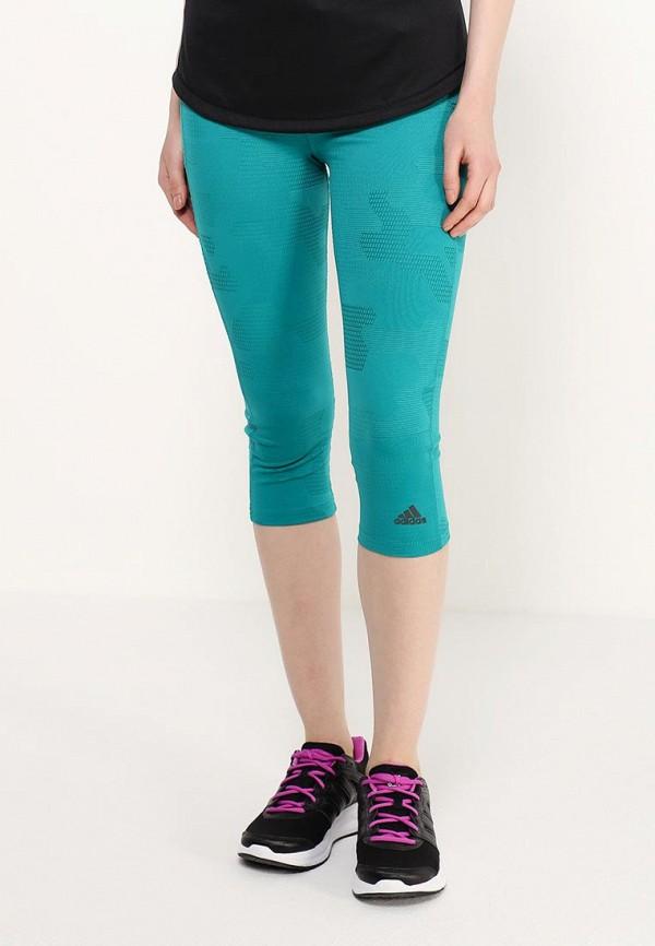 Женские спортивные брюки Adidas Performance (Адидас Перфоманс) AI3241: изображение 3