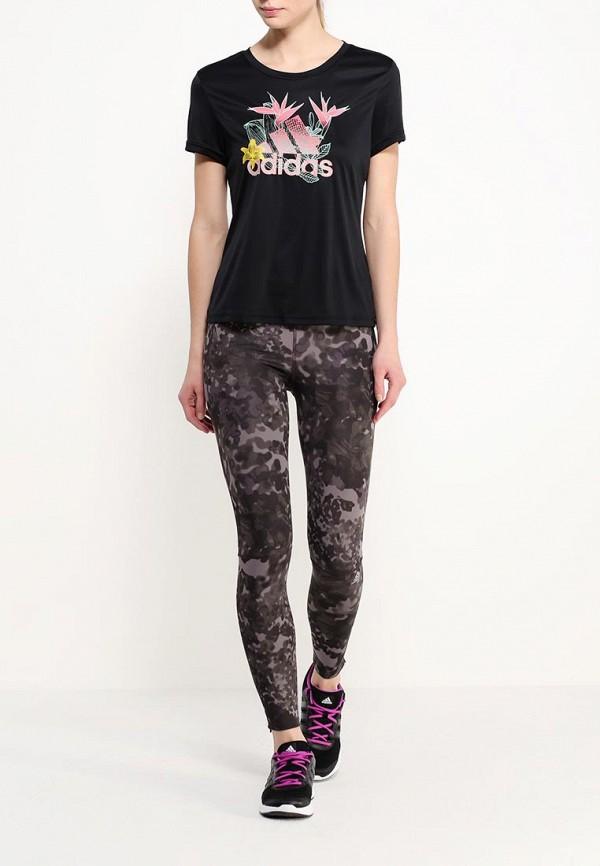Женские спортивные брюки Adidas Performance (Адидас Перфоманс) AI3277: изображение 2