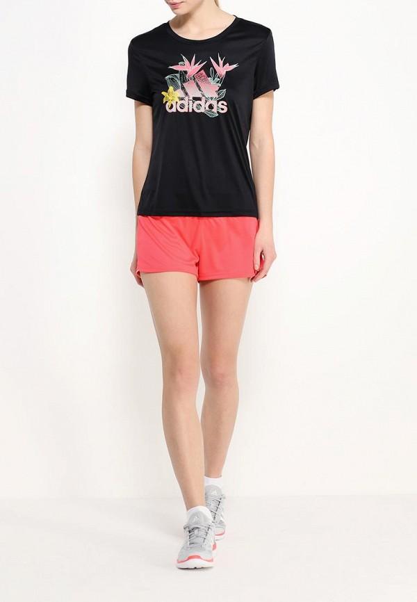 Женские спортивные шорты Adidas Performance (Адидас Перфоманс) AI8124: изображение 2