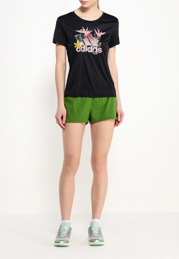Женские спортивные шорты Adidas Performance (Адидас Перфоманс) AI8127: изображение 2