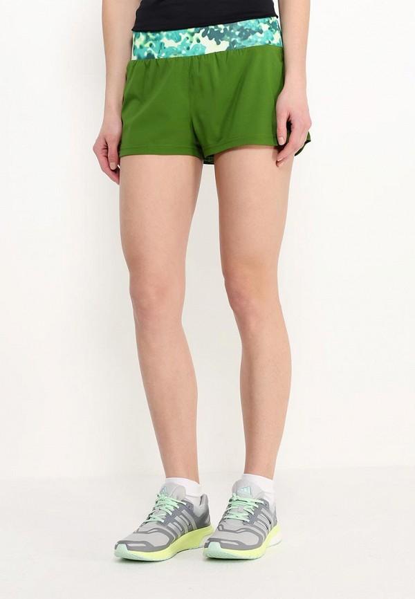 Женские спортивные шорты Adidas Performance (Адидас Перфоманс) AI8127: изображение 3