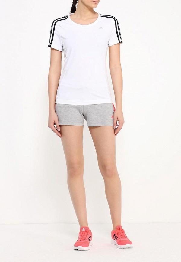 Женские спортивные шорты Adidas Performance (Адидас Перфоманс) AJ4658: изображение 2
