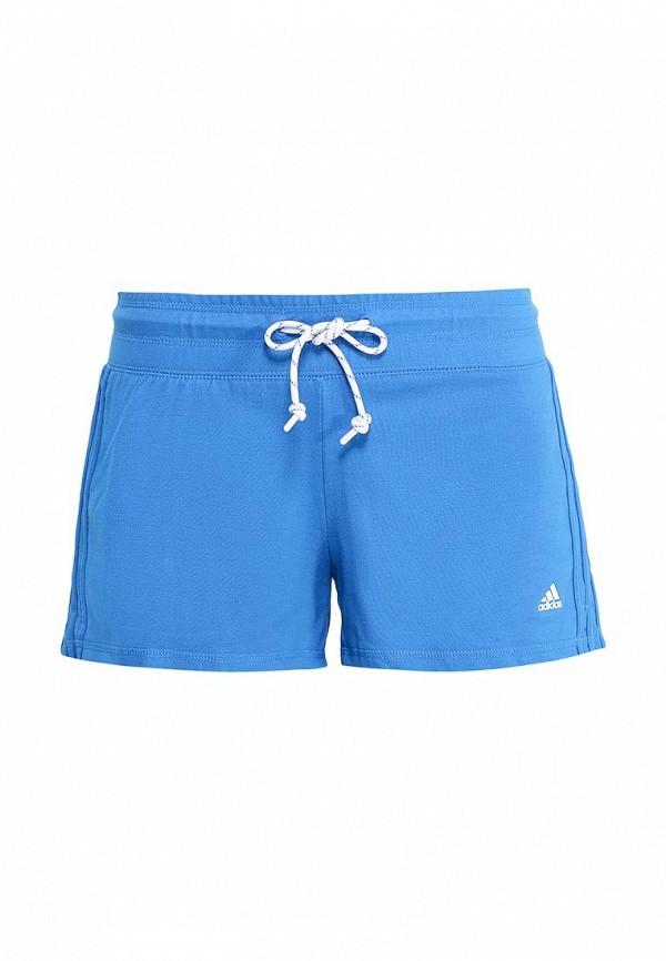 Женские спортивные шорты Adidas Performance (Адидас Перфоманс) AJ4659: изображение 1