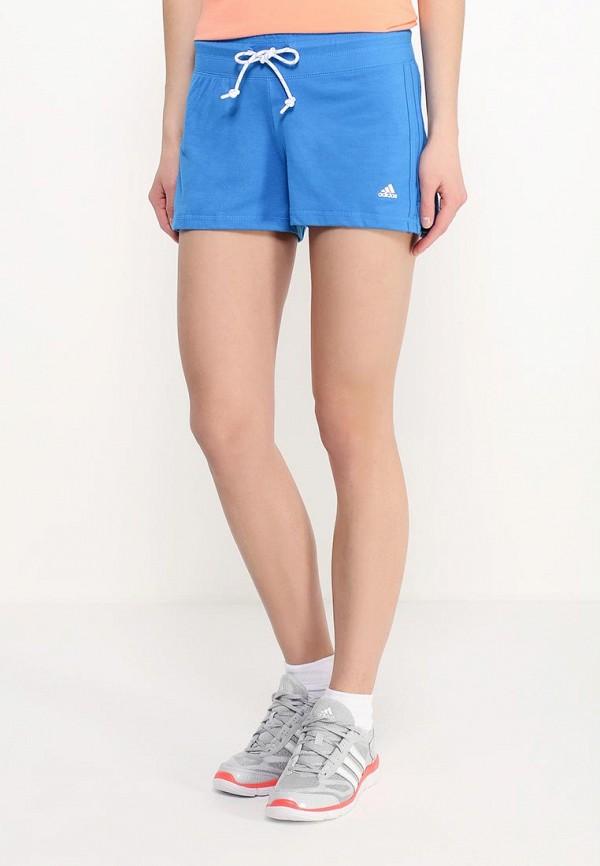 Женские спортивные шорты Adidas Performance (Адидас Перфоманс) AJ4659: изображение 3