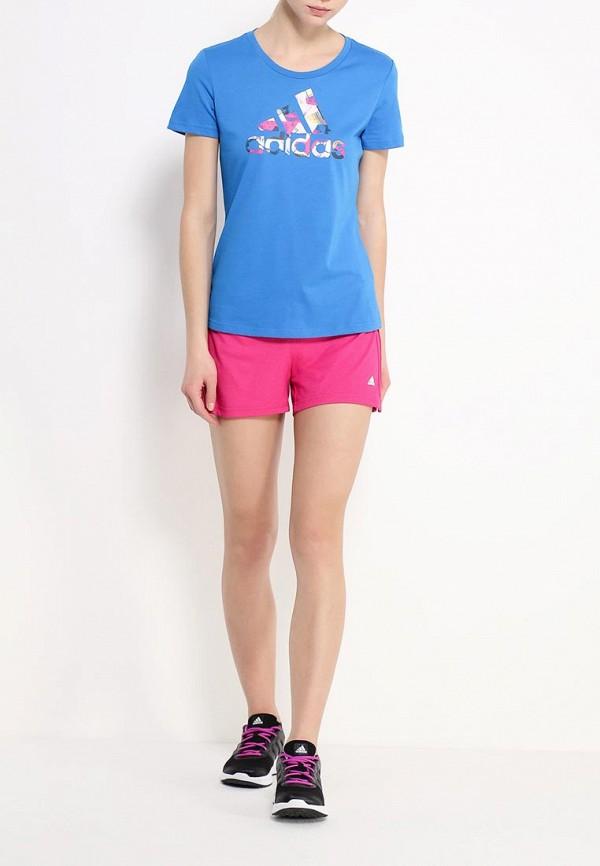 Женские спортивные шорты Adidas Performance (Адидас Перфоманс) AJ4660: изображение 2
