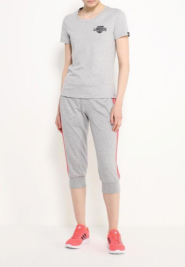 Женские спортивные брюки Adidas Performance (Адидас Перфоманс) AJ4690: изображение 2