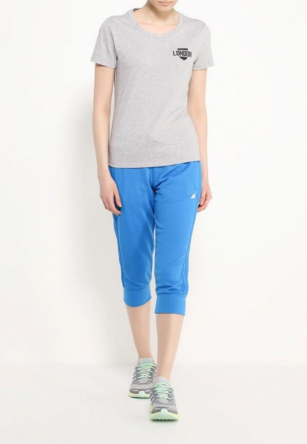 Женские спортивные брюки Adidas Performance (Адидас Перфоманс) AJ4692: изображение 2