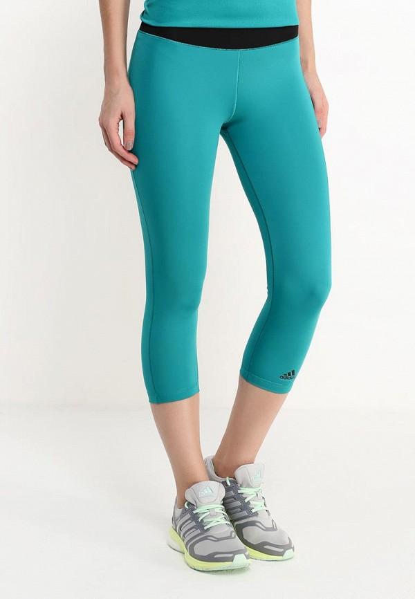 Женские спортивные брюки Adidas Performance (Адидас Перфоманс) AJ5026: изображение 3