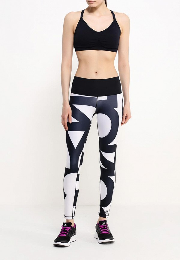 Женские спортивные брюки Adidas Performance (Адидас Перфоманс) AJ5055: изображение 2