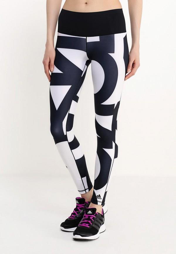 Женские спортивные брюки Adidas Performance (Адидас Перфоманс) AJ5055: изображение 3