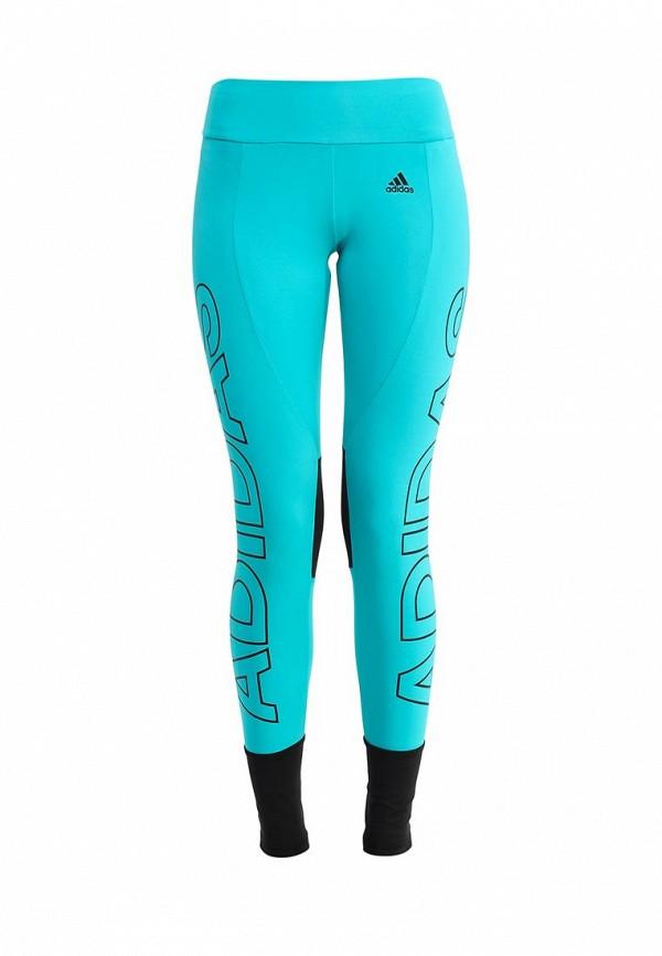 Женские спортивные брюки Adidas Performance (Адидас Перфоманс) AJ6350: изображение 1