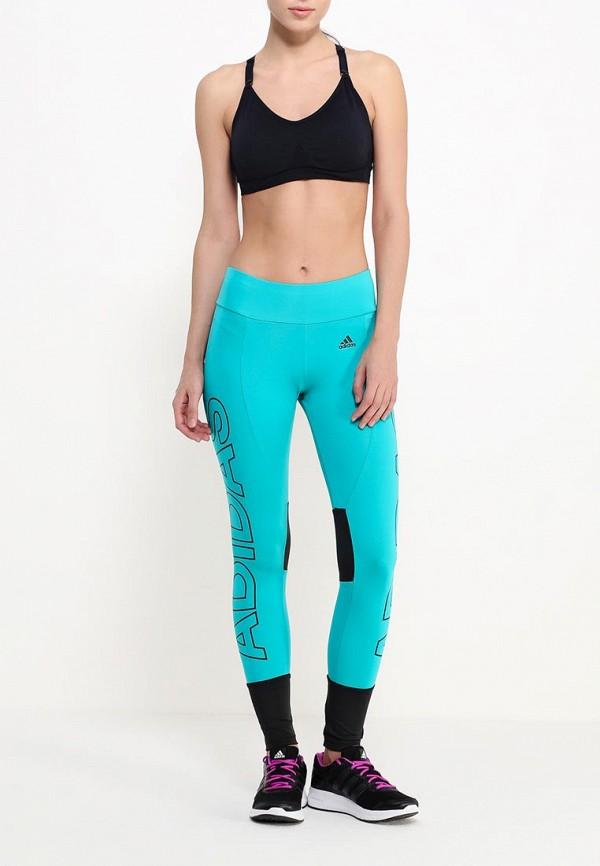 Женские спортивные брюки Adidas Performance (Адидас Перфоманс) AJ6350: изображение 2