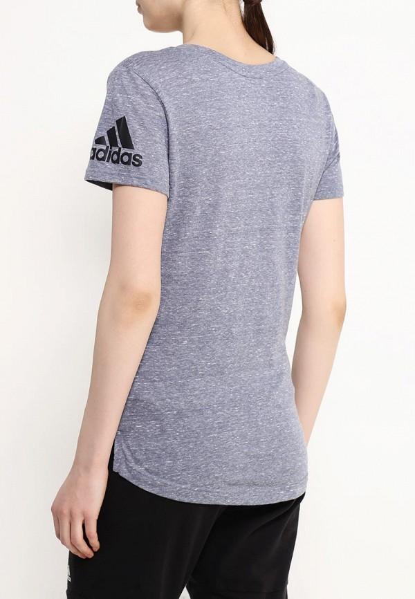 Спортивная футболка Adidas Performance (Адидас Перфоманс) AJ6415: изображение 4